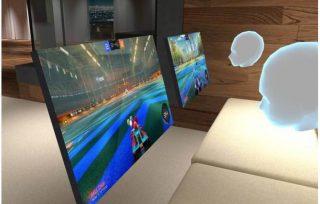 lan-house-do futuro-tera-pessoas sozinhas-com-oculos-de-realidade virtual